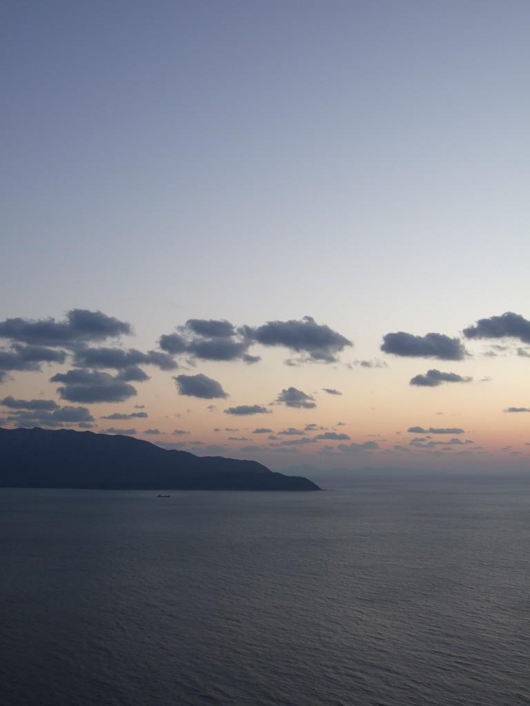 敦賀半島の黄昏