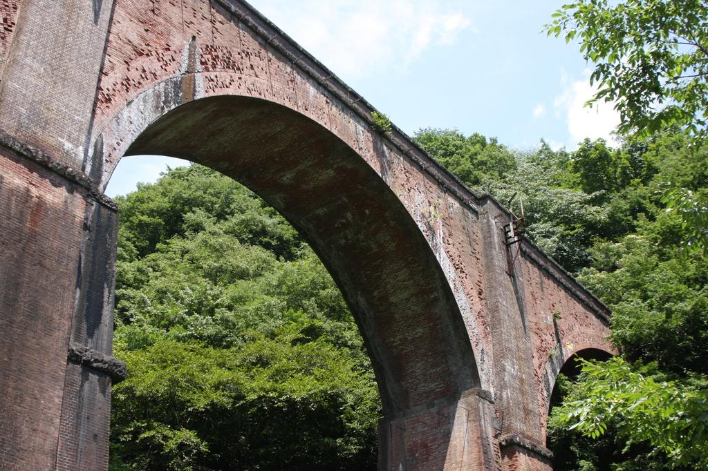 旧碓氷線 めがね橋
