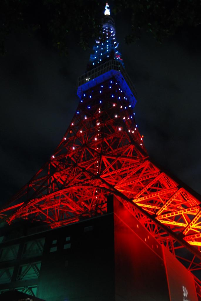 東京タワー 夜
