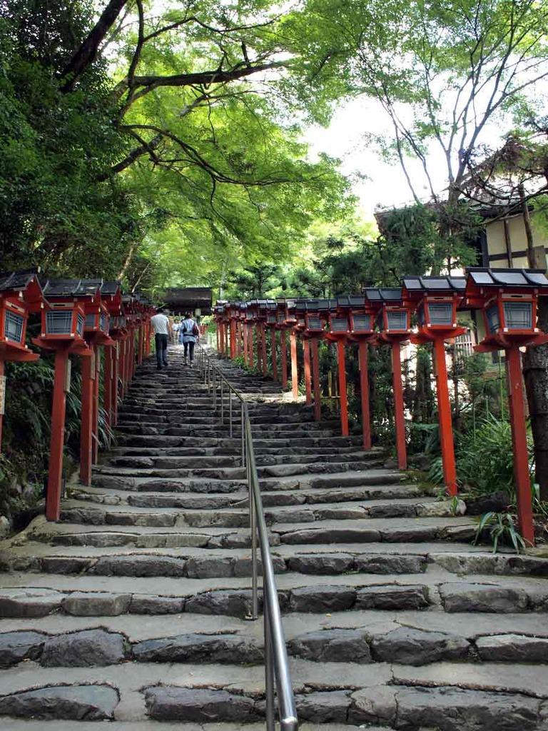 貴船神社・燈篭