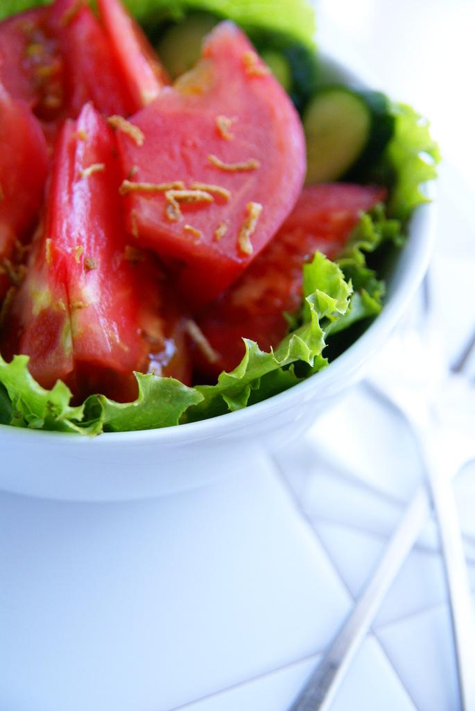夏のサラダ
