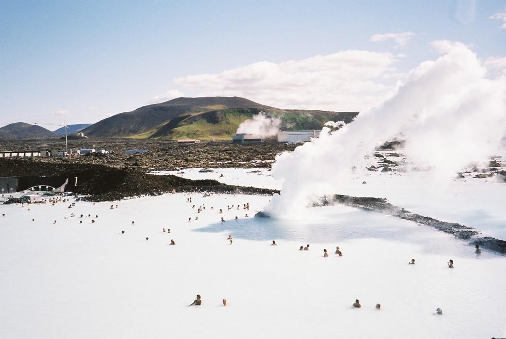 ブル-ラグ-ン(アイスランド)