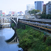 JR御茶ノ水駅と聖橋