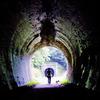 犬と散歩 トンネル編