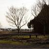 田舎のベンチ