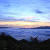 十和田湖の朝日