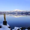 穏かな湖畔