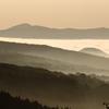 茜色の雲海
