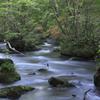 奥入瀬渓流三乱の流れ2
