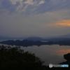 湖面の輝き