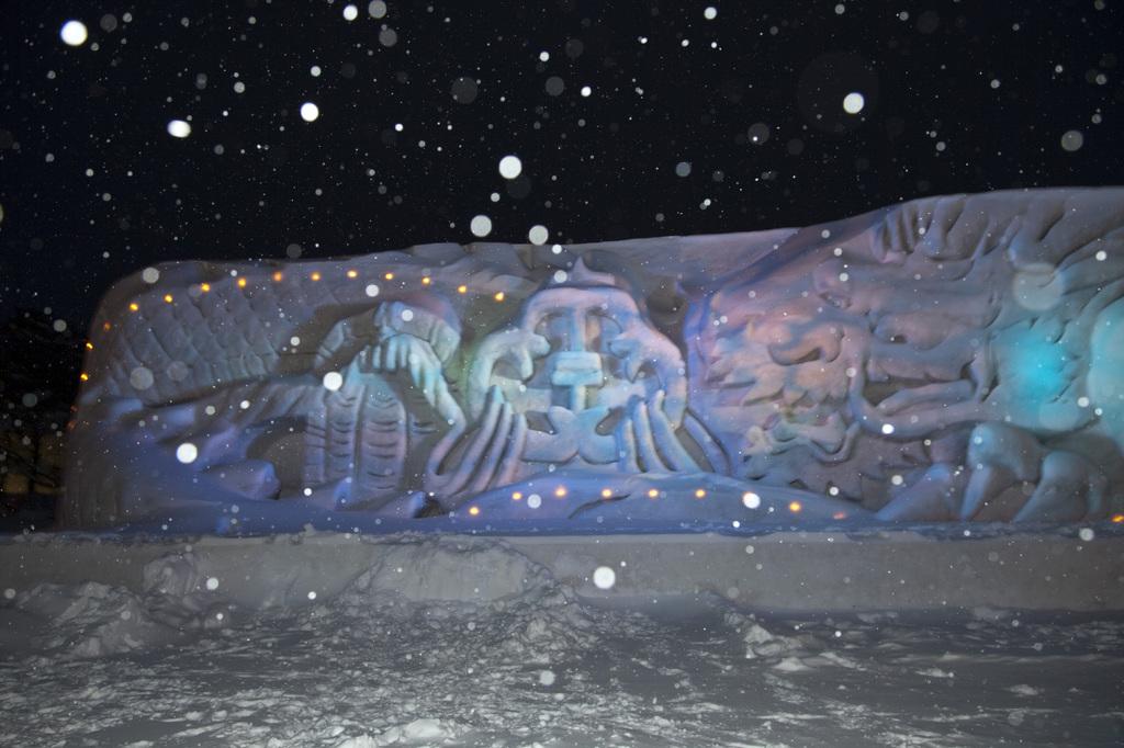 十和田湖冬物語1