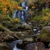 二の滝の秋