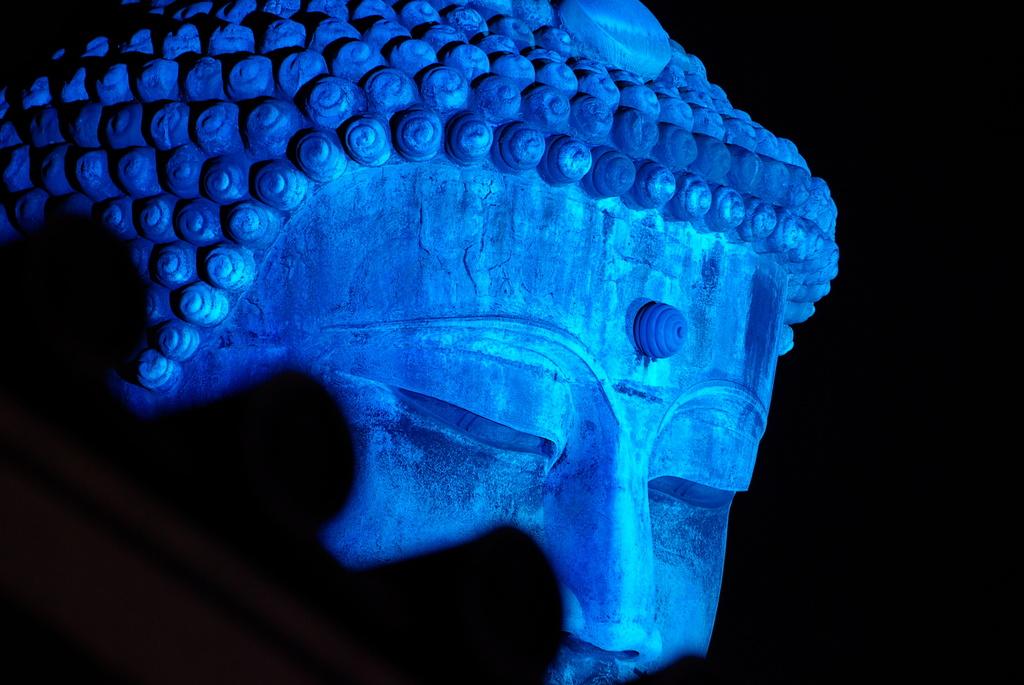 Blue Great Buddha