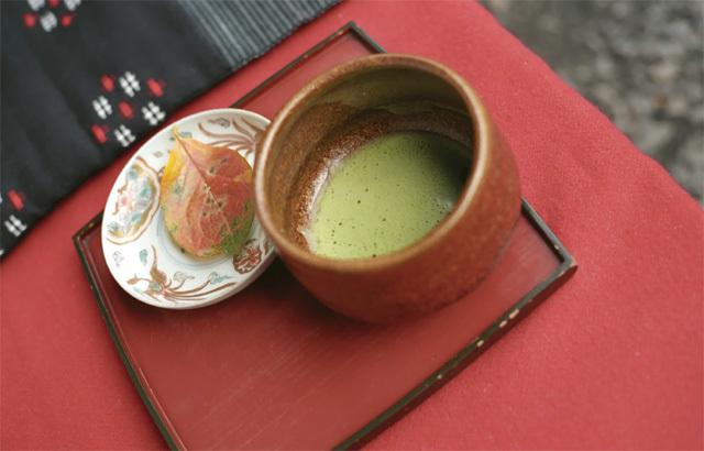正暦寺・抹茶