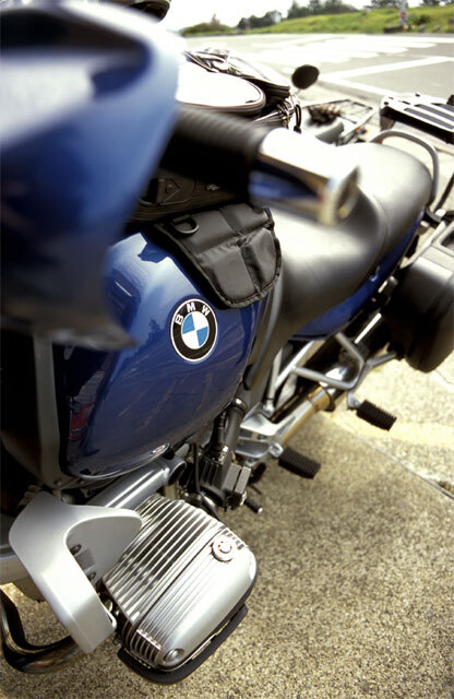潮岬・BMW R1100R