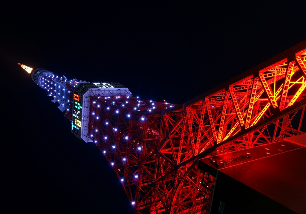 東京タワー 近くから見るか?