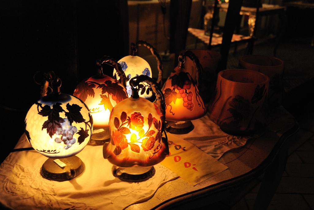 秋色ランプ