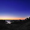 五浦海岸の夜明け