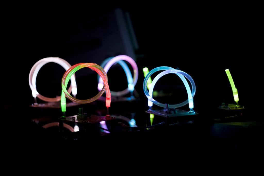 Illuminated circuit