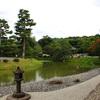 鳳凰堂(中堂)から見た庭