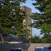 鉄道記念公園より見た竪坑櫓