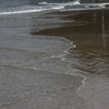 21 砂浜は穏やか
