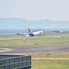 関空にて Landing