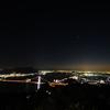 関門海峡の夜