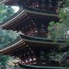 古寺の五重の塔