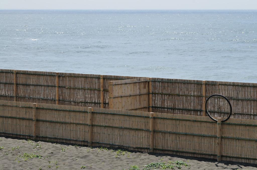 車輪?も海が見たい春!