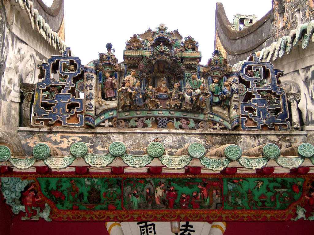 中国伝統の寺