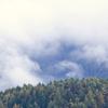 雲の中の小さな家