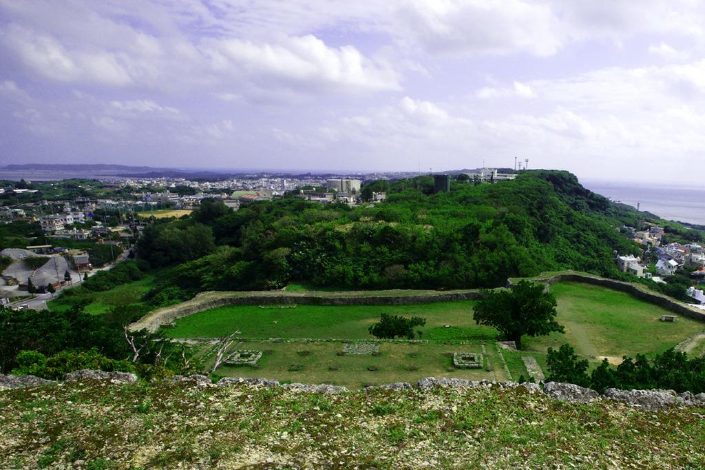 世界遺産 沖縄 勝連城跡-18