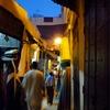 モロッコ 旧市街 夜景