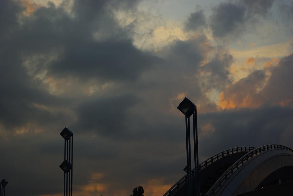 ミュンヘン大橋の空