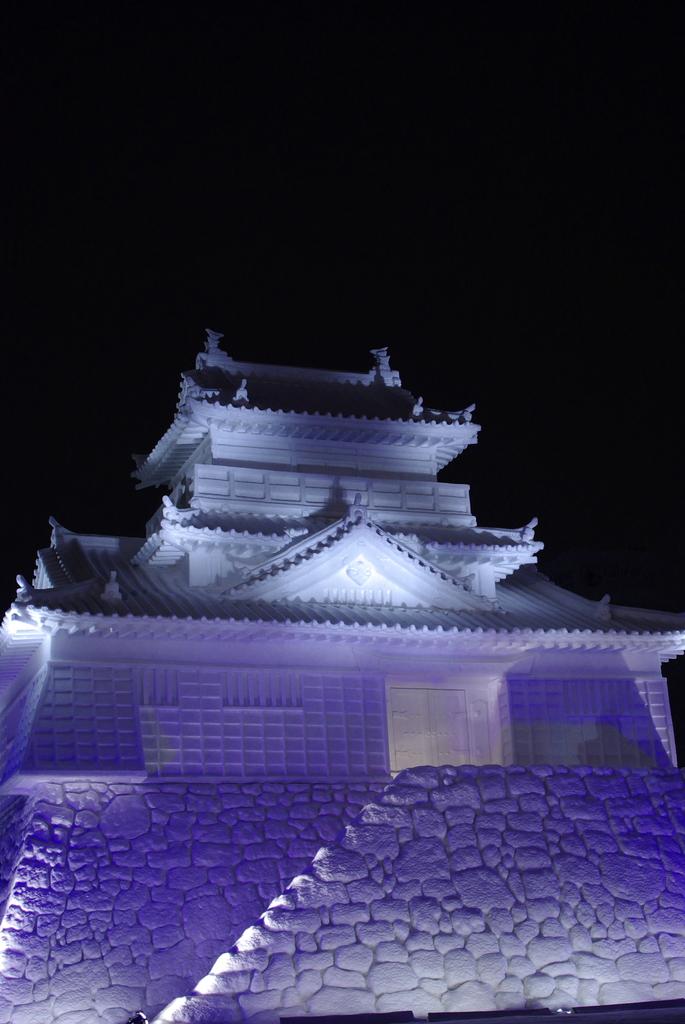 大雪像 浜松城