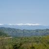 南アルプスと本栖湖