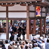 白山宮 奉納こきりこ踊り しで竹踊り