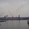 呉にて停泊中の船