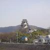 ちょうと遠いですが 岡山城