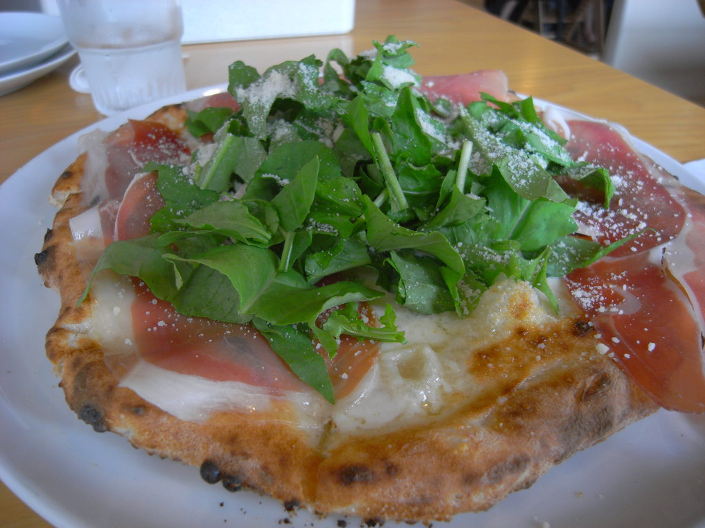 ランチ@近所のピザ屋2