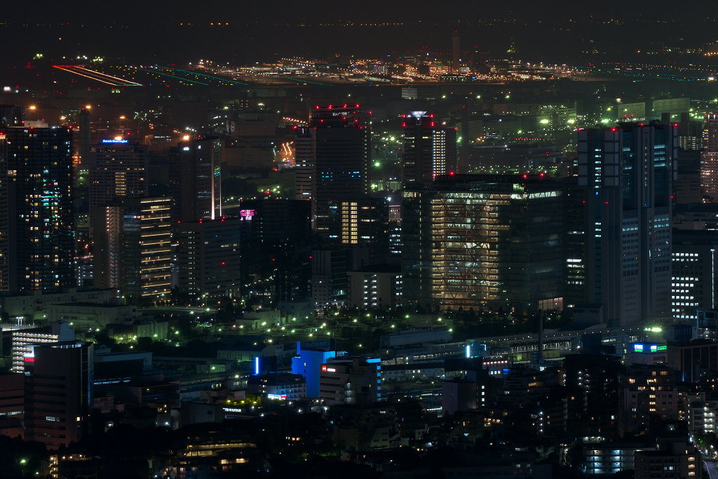 見えますか?羽田空港。