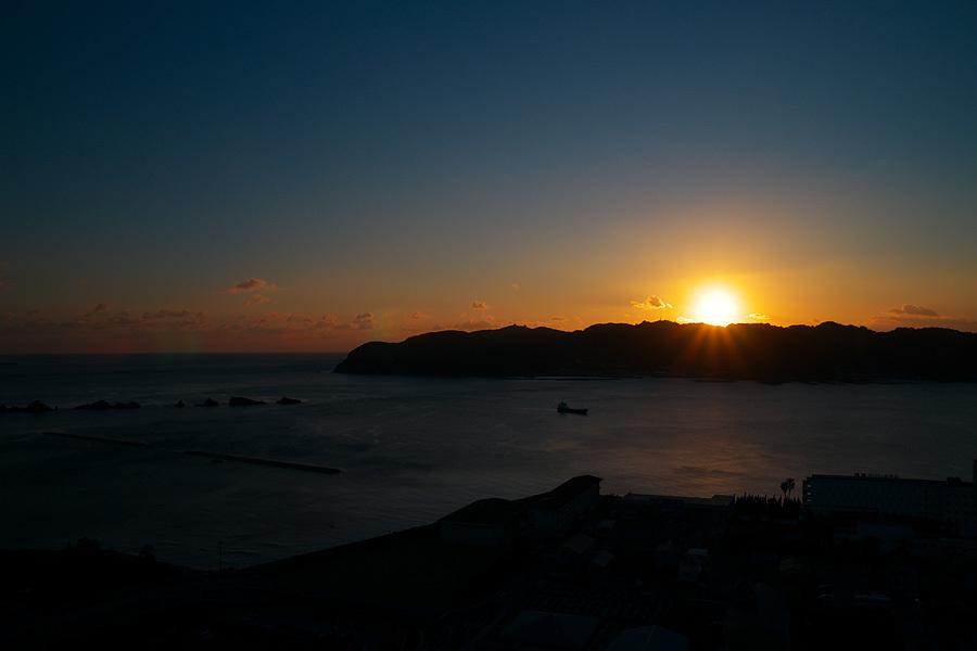 串本の夜明け