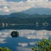 無霧の摩周湖