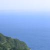 送毛峠から望む石狩湾