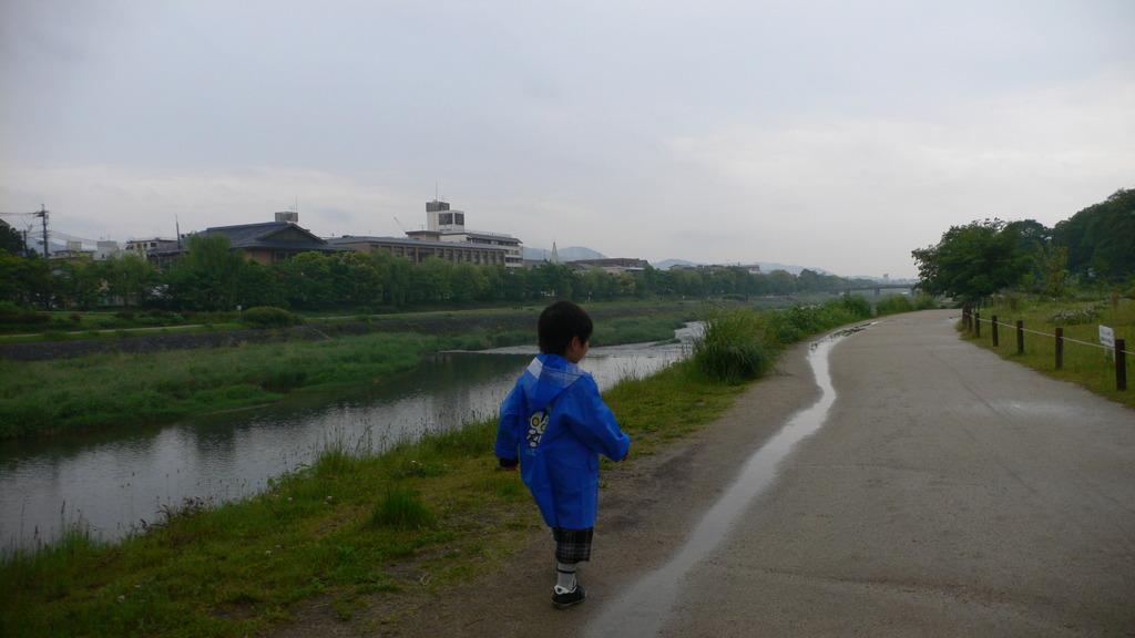 大きな川と小さな川
