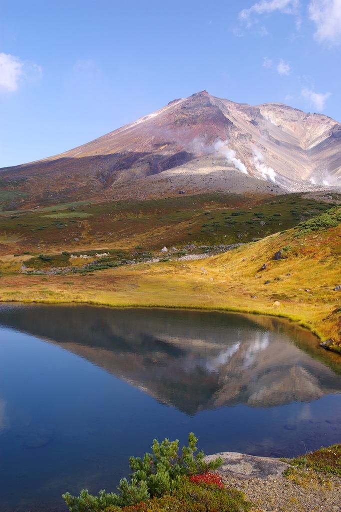 旭岳の鏡池