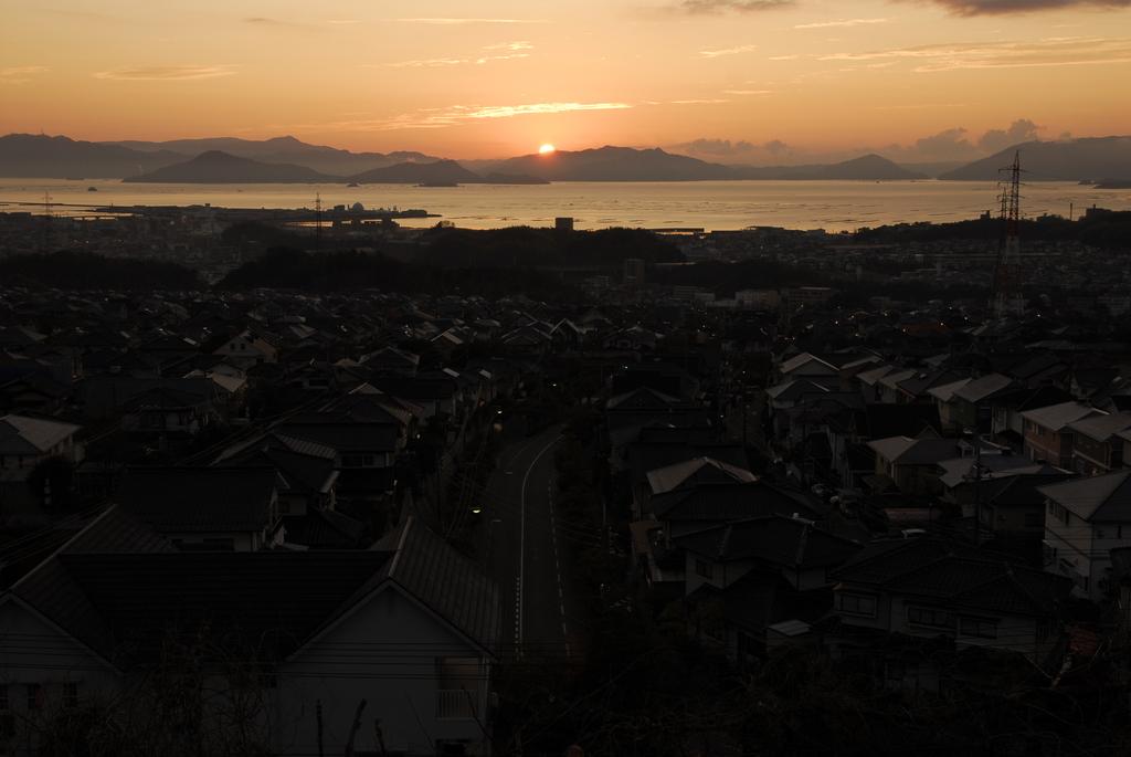 四季が丘からの初日の出。