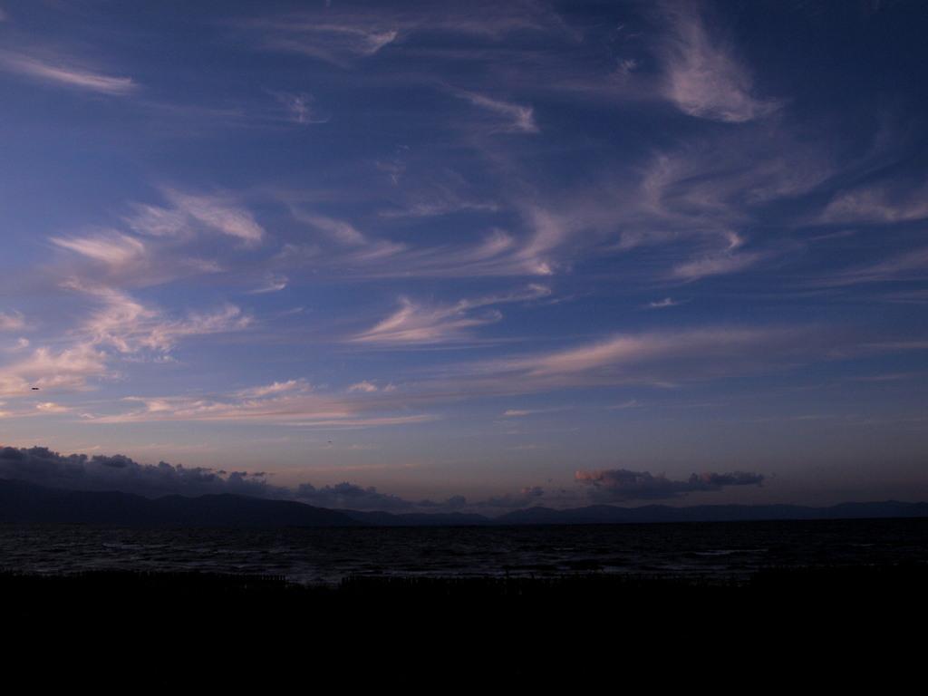 ほうき雲いっぱい
