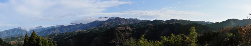 祖母山パノラマ